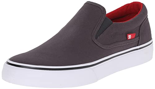 DC Shoes Trase Slip-on TX Hombre Lienzo Zapatillas, Color, Talla 8: Amazon.es: Zapatos y complementos
