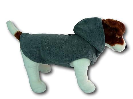 Cara Mia Dogwear - Chaleco con Capucha y arnés de Forro Polar para ...