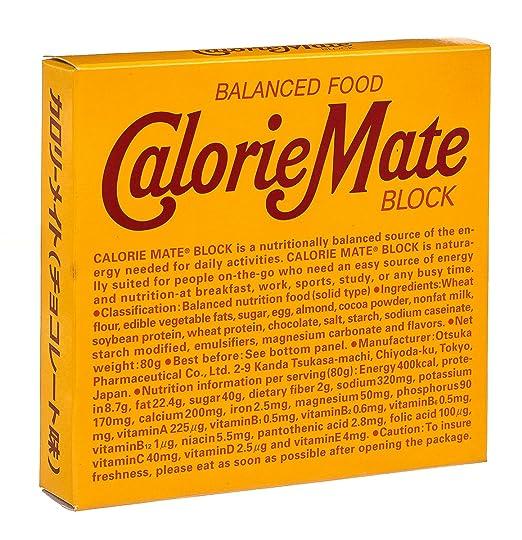 Calorie Mate calorie bars