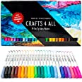 Fabric Markers Pens Permanent 24 Colors Fabric Paint Art Markers Set Child Safe & Non-Toxic. Graffiti Fine Tip Minimal Bleed