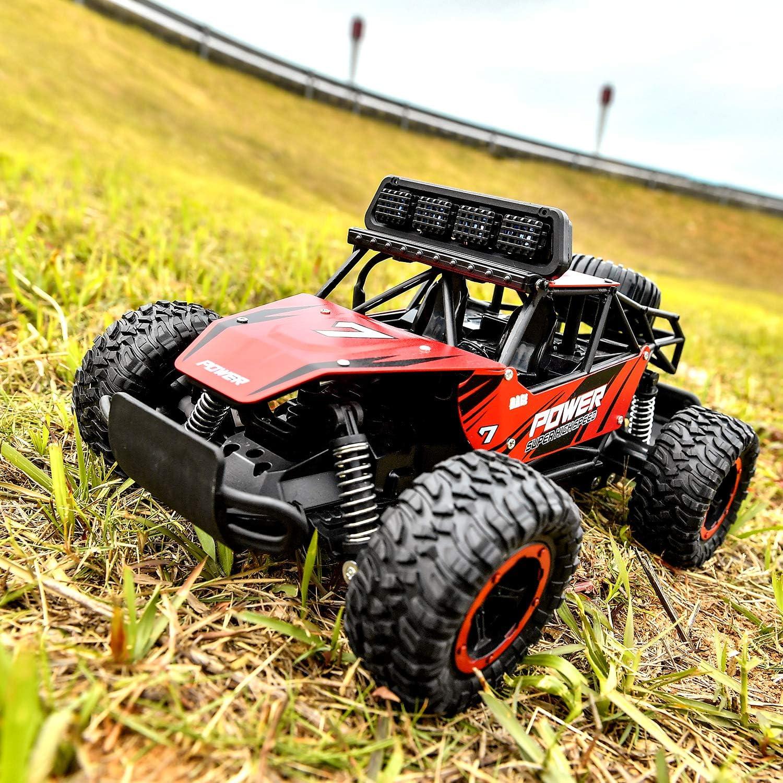 1:14 Ferngesteuertes Auto f/ür Kinder Schnelles Rennauto Hobby-Auto 2,4Ghz Elektrischer Spielzeug-Buggy mit Zwei wiederaufladbaren Batterien f/ür Jungen Teenager BEZGAR RC-Auto