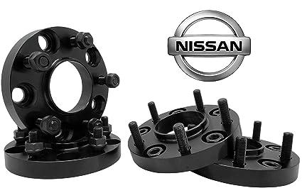 Amazon Com 4 Pc Nissan 350z 370z Infinity G35 G37 Black 20mm Hub