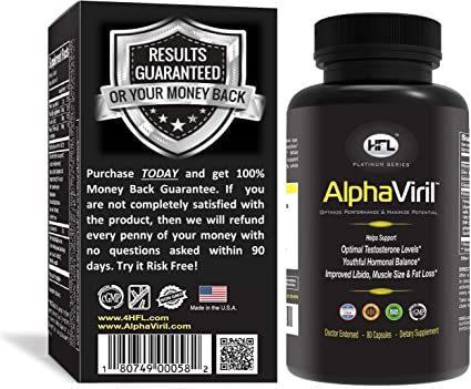 Amazon Com Alphaviril By Dr Sam Robbins Natural Testosterone Booster For Men Women Increase Strength Energy Stamina Performance Build Muscle Made In Usa Tongkat Ali Extract Horny Goat Weed