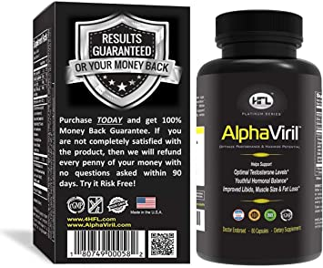 AlphaViril™ by Dr Sam Robbins | Natural Testosterone Booster, Increases  Libido, Sex Drive, Strength,