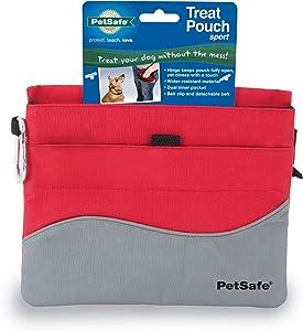 PetSafe Treat Pouch Sport- Durable, Convenient Dog Training Accessory, Standard, Red