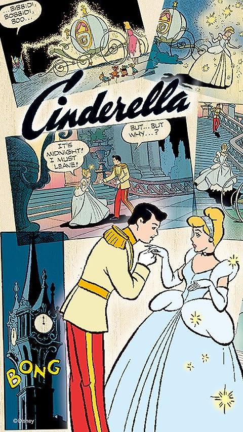 ディズニー コミックアート・シンデレラ XFVGA(480×854)壁紙画像