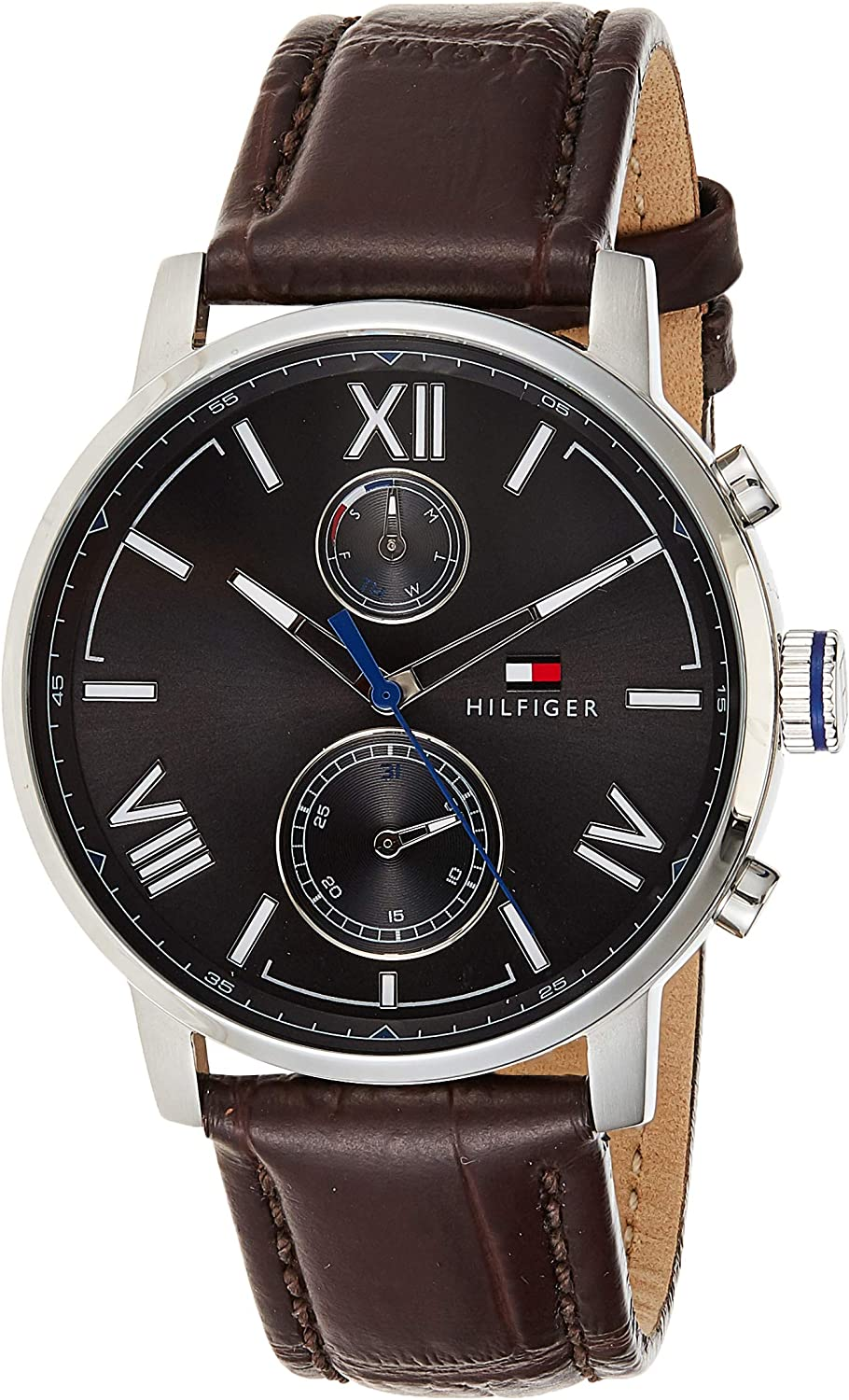 Tommy Hilfiger Men s 1791309 Analog Display Quartz Brown Watch