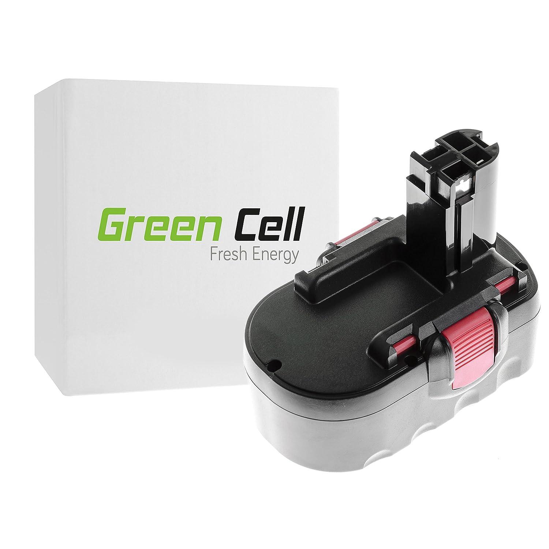 Nuova lista verde verde verde Cell® Utensili Elettrici Batteria per Bosch 33618 (Ni-MH pile 3000 mAh 18V)  in linea