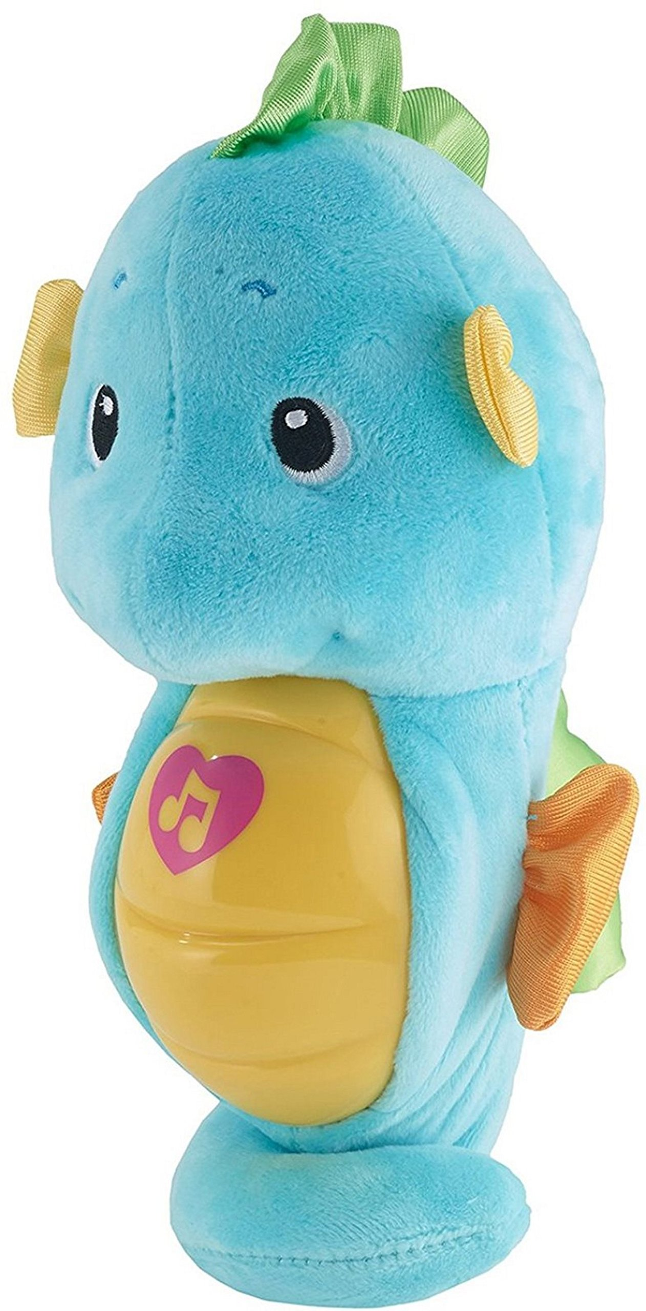 Fisher-Price Soothe & Glow Seahorse, Blue