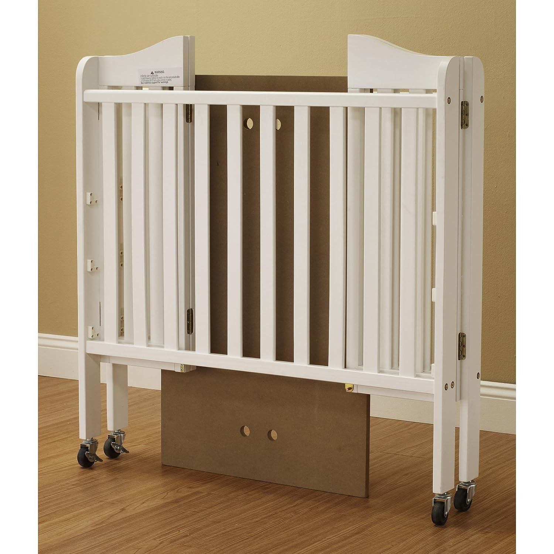 Orbelle Noa Three Level Portable Crib Gray