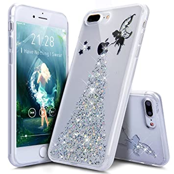 coque iphone 8 glitter
