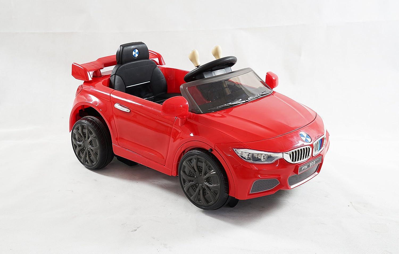 Coche de juguete para niños, modo dual, estilo BMW con transformación a robot, eléctrico con batería de 12 V, control remoto, se abren las puertas, ...