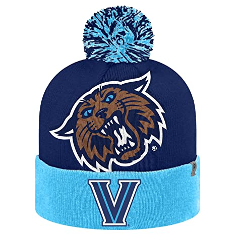san francisco 7409d 9fc4a Image Unavailable. Image not available for. Color  Top of the World  Villanova Wildcats Blaster Knit Beanie