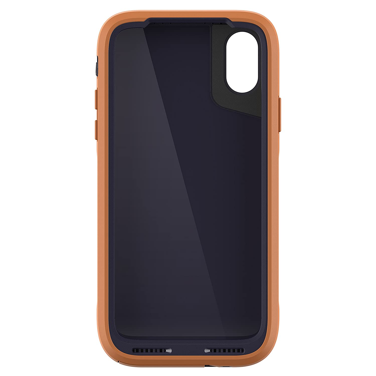 OtterBox Pursuit Series Slim Case for iPhone X/Xs (ONLY) - Bulk Packaging - Desert Spring (Dark Blue/Light Brown)