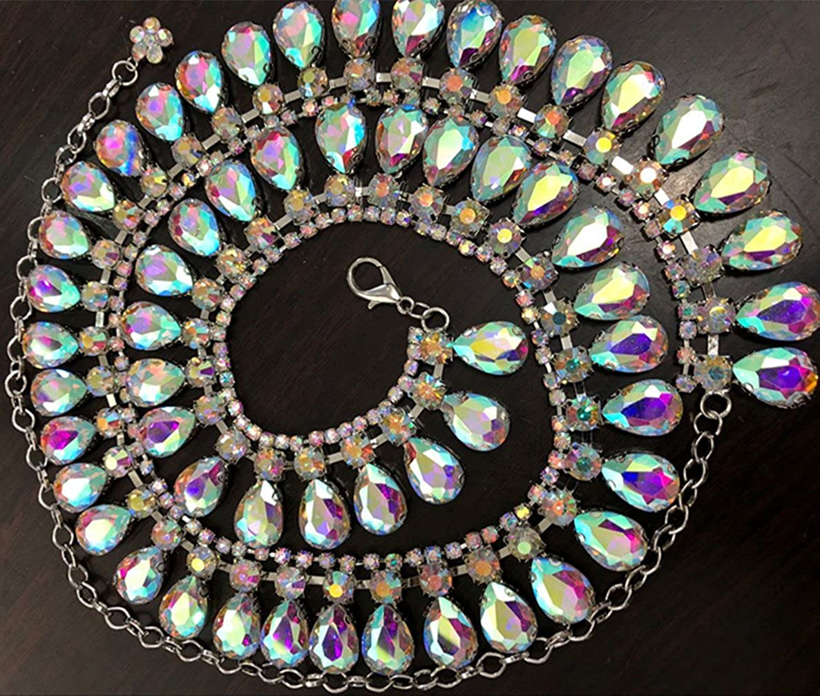 2019 Party Crystal Rhinestone Belt Belly Chains Egyptian Belly Dancing Accessory Birthday//Valentines Day Gifts,