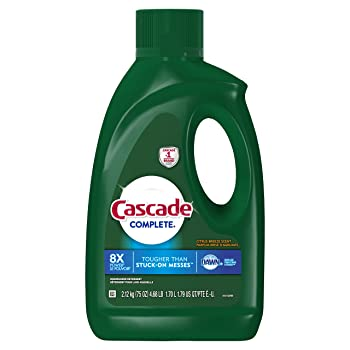 Cascade 75Oz Gel Dishwasher Cleaner