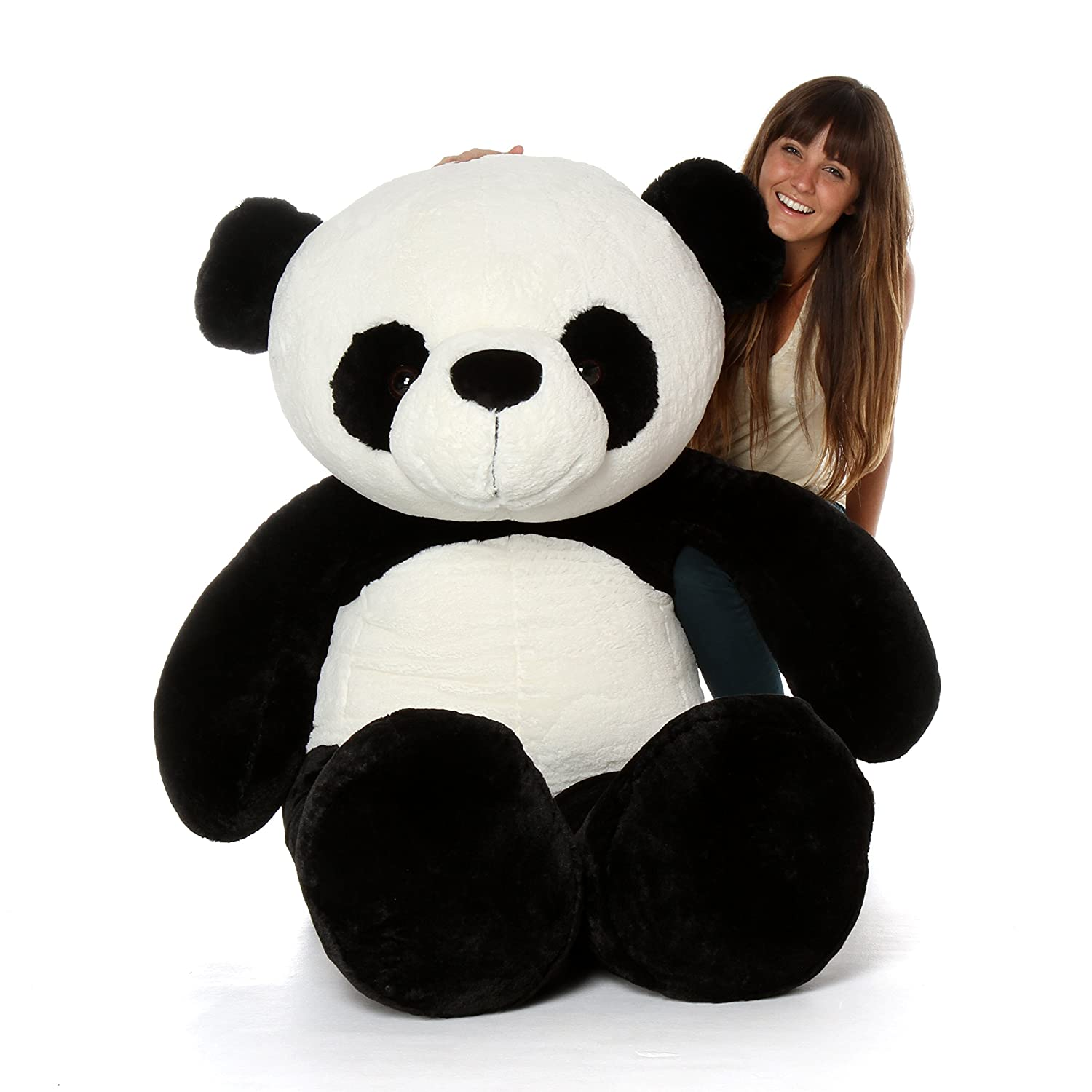 Amazon Com Giant Teddy Brand Giant Stuffed Panda Bears 6 Foot