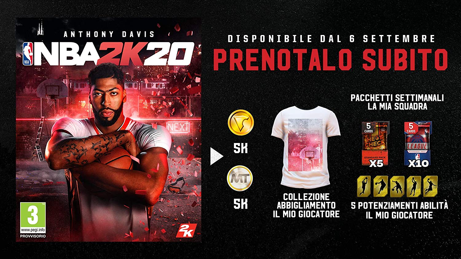 Nba 2K20 - Day-One - Nintendo Switch [Importación italiana ...