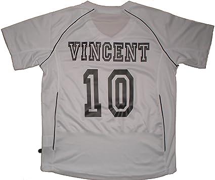 Patoutatis – Camiseta – Camiseta de fútbol personalizado con nombre y número de OnlineFotoservice – Manga