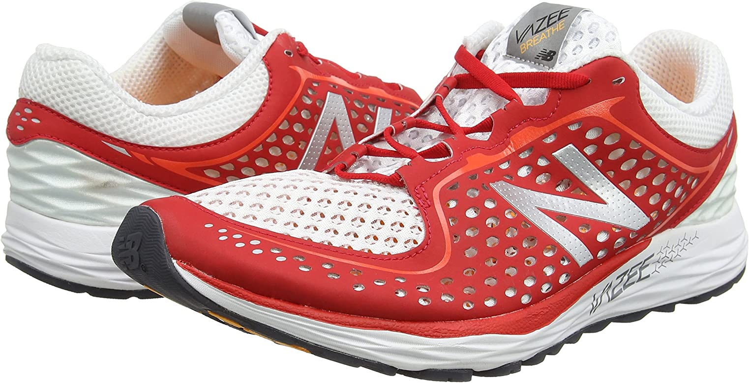 New Balance Vazee Breathe, Zapatillas de Running para Hombre, Multicolor (Red/White 981), 40.5 EU: Amazon.es: Zapatos y complementos