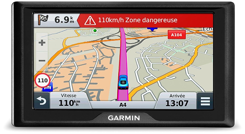 Garmin Drive 61 Full EU LMT-S - Navegador GPS con mapas de por Vida y tráfico vía móvil (Pantalla de 6