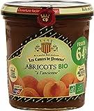 Les Comtes De Provence Abricot Bio 0.64 Teneur en Fruits le Pot 350 g - Lot de 3