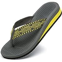 ChayChax Chanclas de Cuña para Mujer Suave Sandalias de Playa Ligero Pantuflas Verano Zapatillas Antideslizante