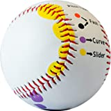 Baseball Pitching Trainer Kit Bundle - Pitch Training Baseball with Detailed Grip Instructions