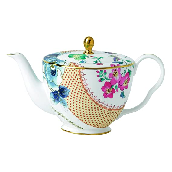 Wedgwood Butterfly Bloom Teapot 1L, Multi