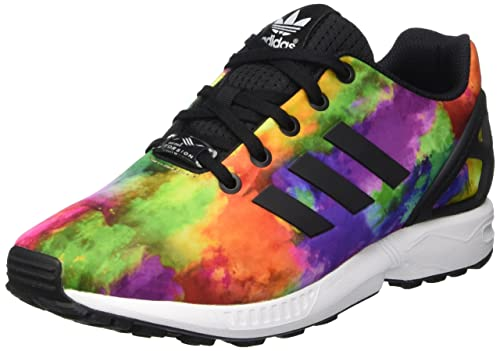 online store bd302 daf10 adidas Boys' Zx Flux K Shoes Multicolor Size: 4.5 UK: Amazon ...