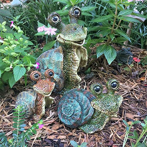 Toad Hollow Homestyles 3-Piece Snail Family