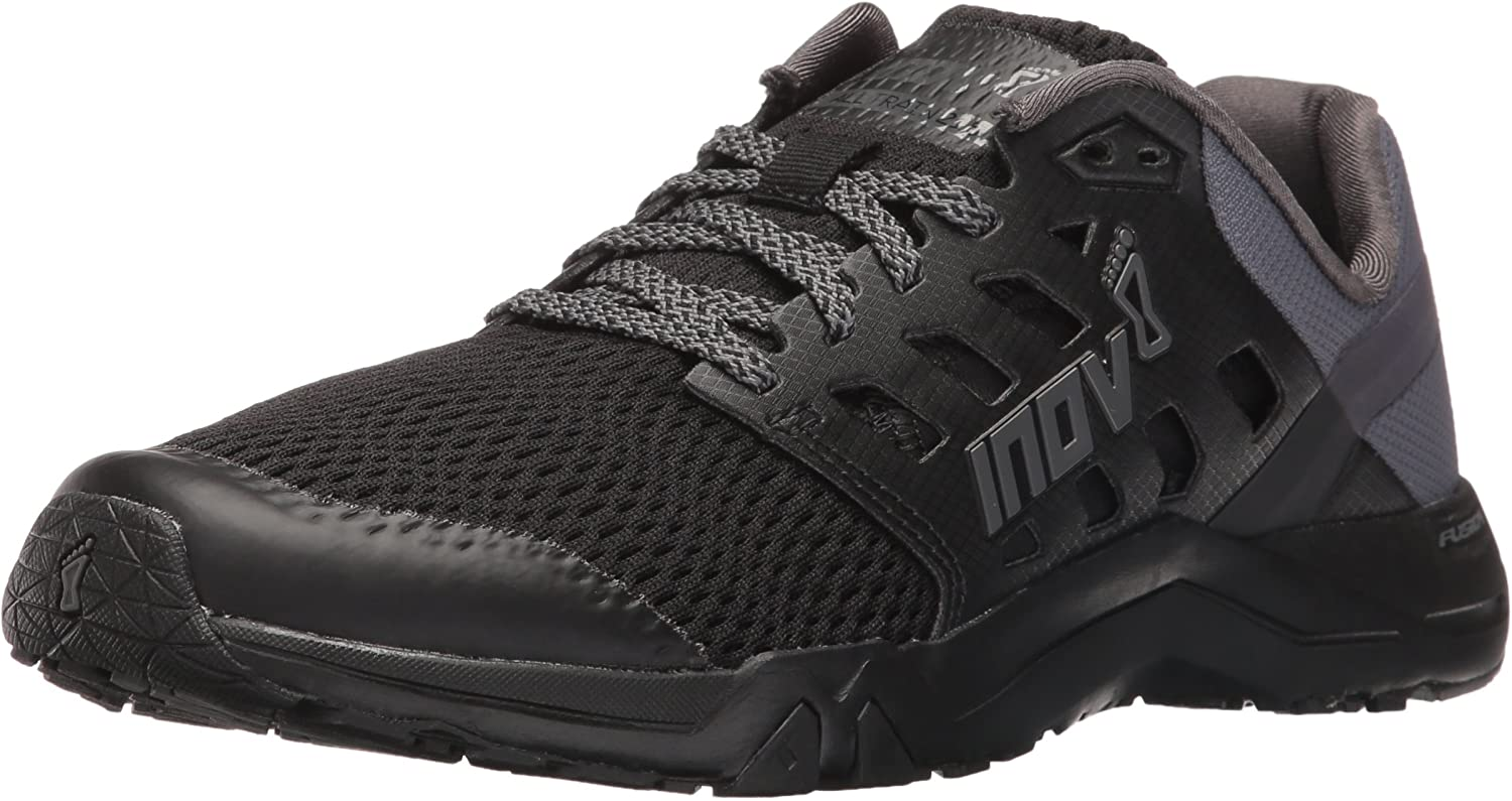 inov-8 Women s All Train 215 Cross Trainer, Black Grey, 9 B US