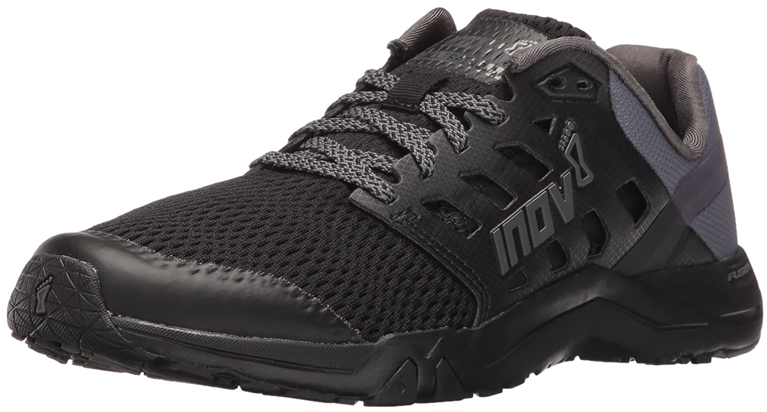 Inov-8 Women's All Train 215 Cross-Trainer Shoe B01G50MWY0 10.5 B(M) US|Black/Grey