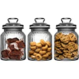 Get Goods Lot de 3 bocaux à biscuits 990 ml
