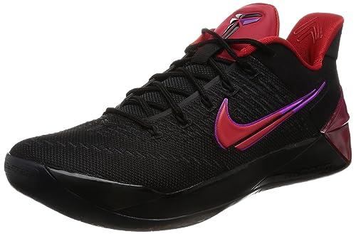newest 47014 4fd95 Nike Mens Kobe A.D. Black Red
