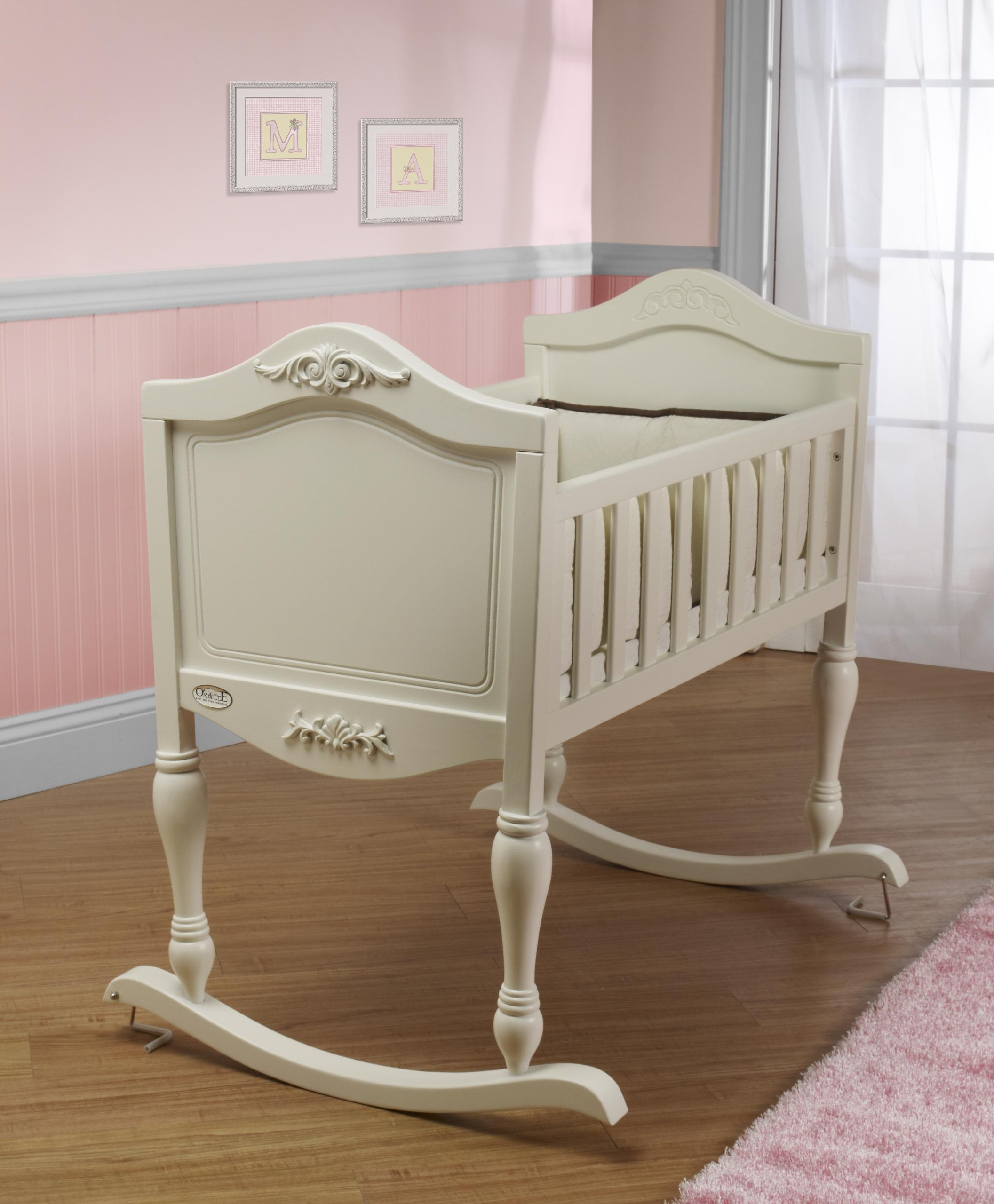 Orbelle Trading Ga Ga Cradle, French White by Orbelle Trading