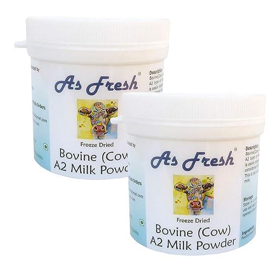 As Fresh Dried A2 Cow Milk Powder (2 x 100 g)