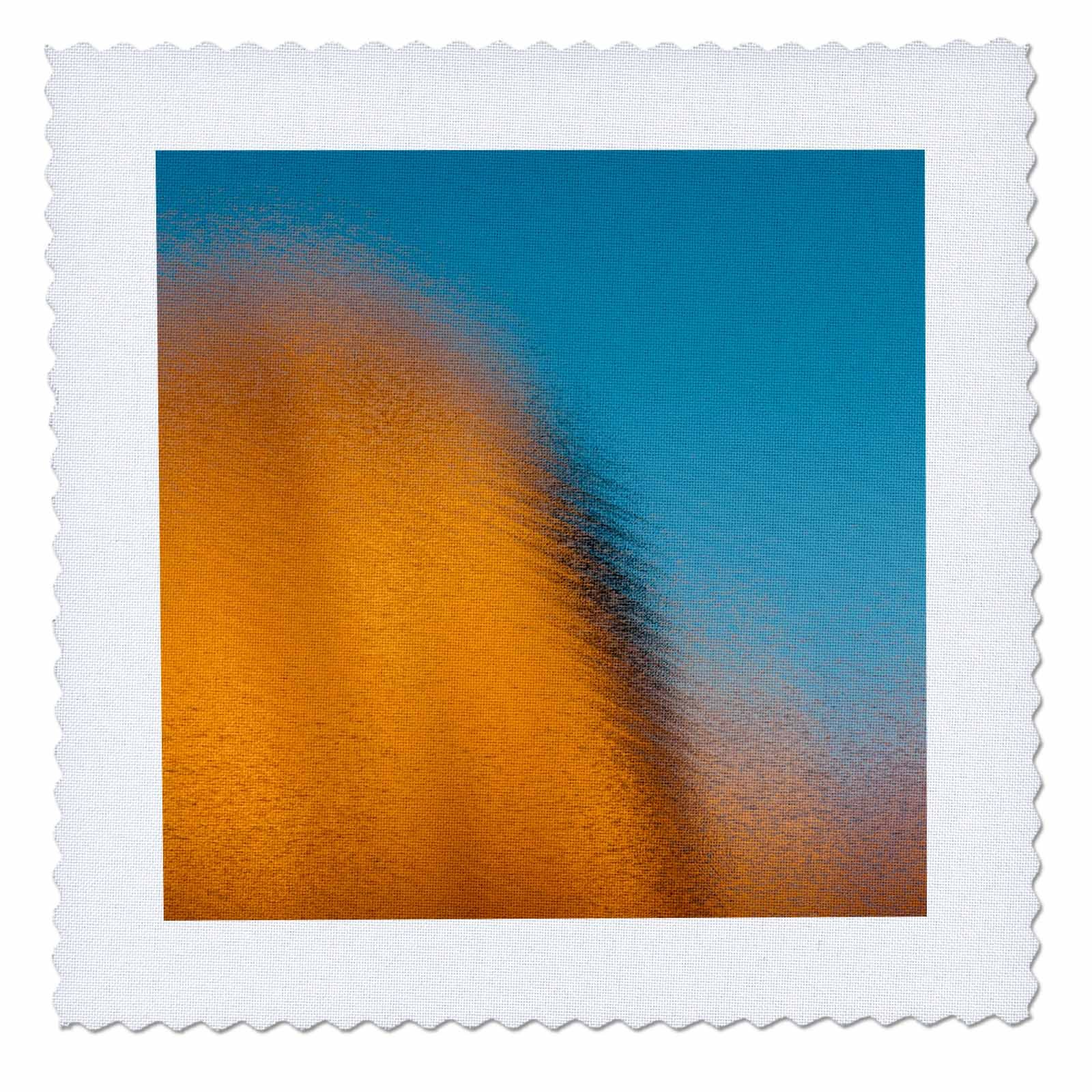 3dRose Danita Delimont - Abstracts - Utah. Abstract reflections of canyon walls on Lake Powell. - 18x18 inch quilt square (qs_260236_7)