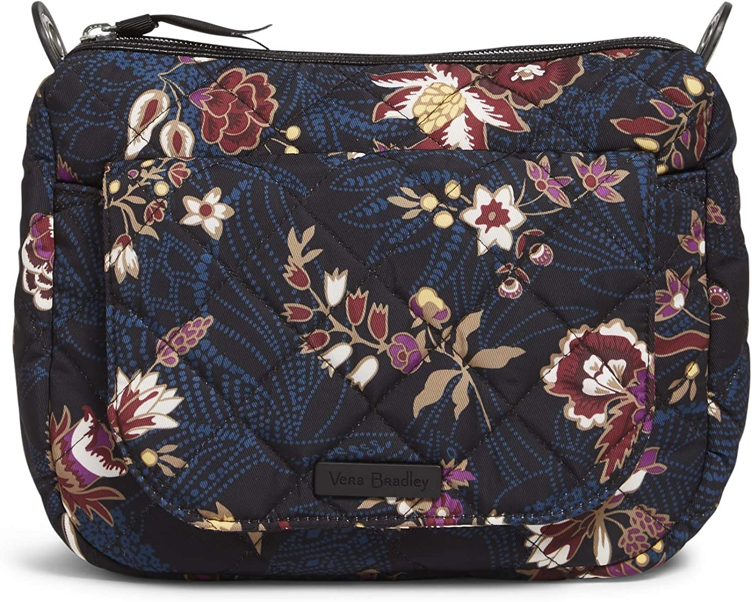 Vera Bradley Performance Twill Carson Mini Shoulder Bag Crossbody Purse