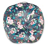 Boppy 00059901060490 Boutique Newborn Lounger Cover, Gray Floral