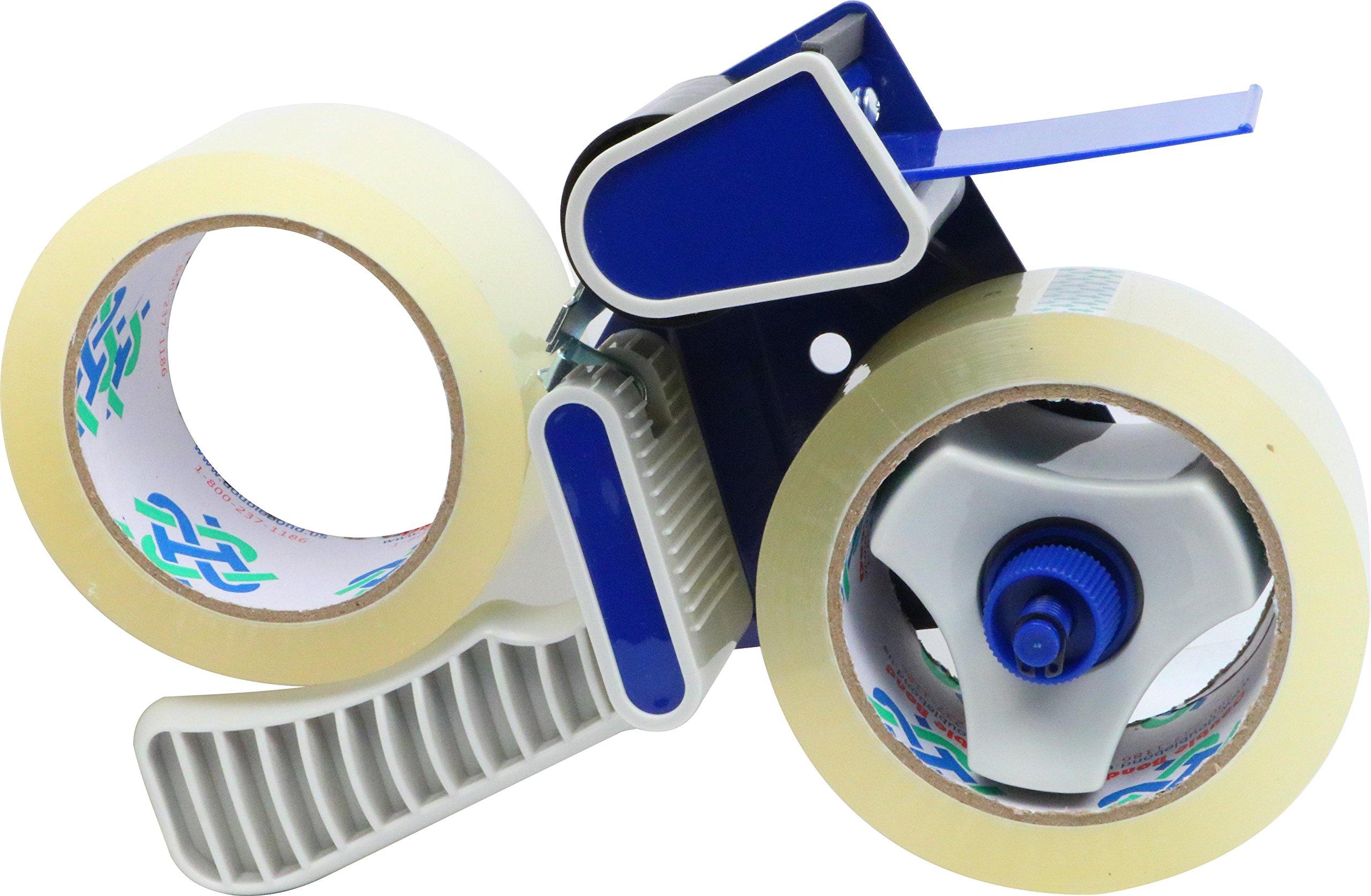 2-Inch Hand-Held Tape Dispenser + 2 Rolls Tape (1.8 Mil)