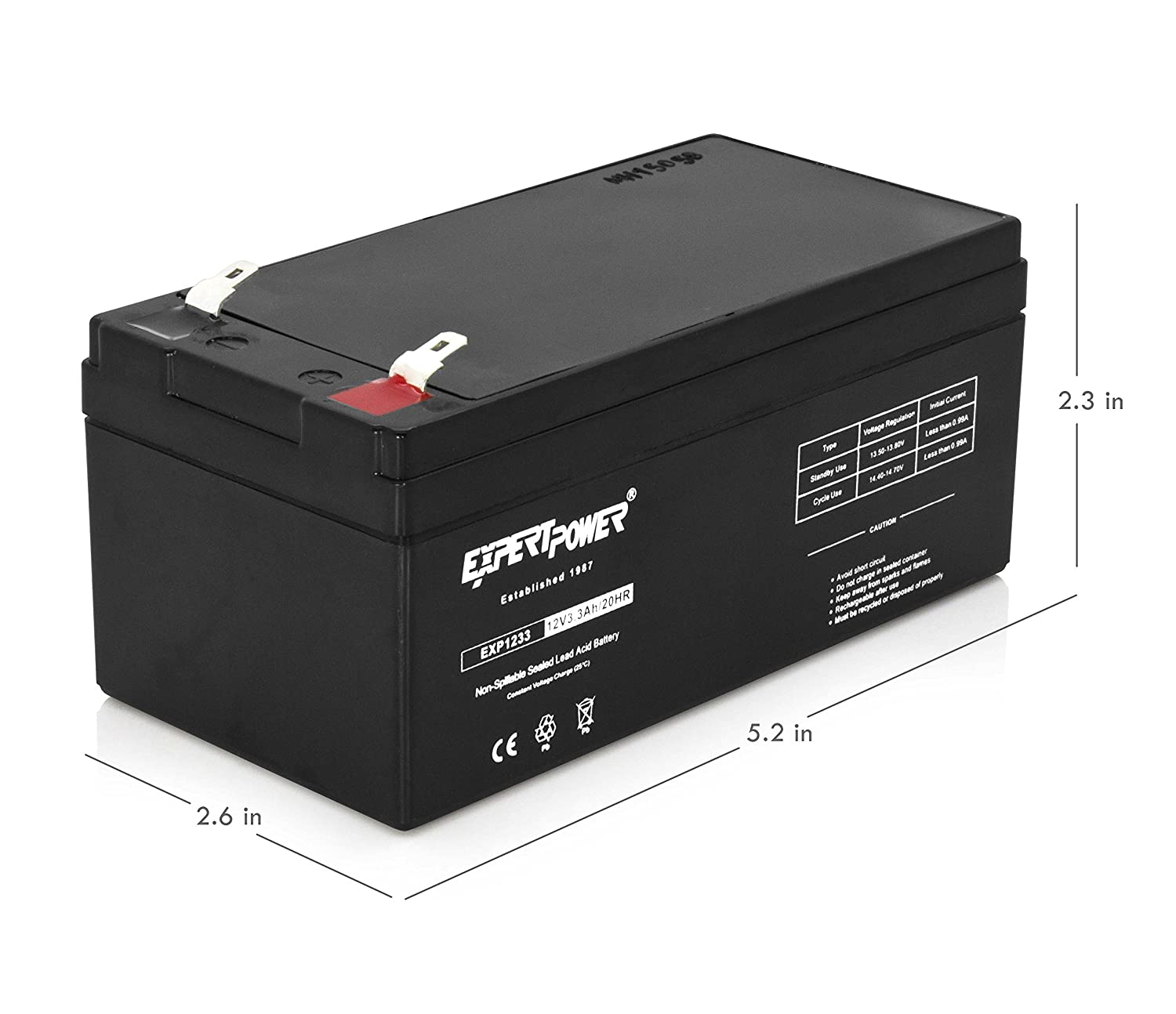 Amazon.com: Replacement Battery for APC Back UPS ES 350 ...