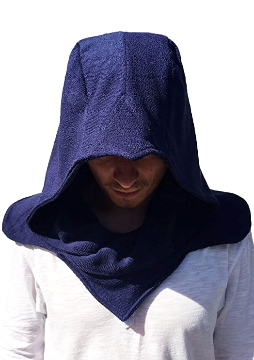 The Cosplay Company Stealth Hood (Blue) One Size