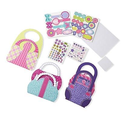 Melissa & Doug Simply Crafty Precious Purses Craft Kit (Makes 3 Purses): Melissa & Doug: Toys & Games