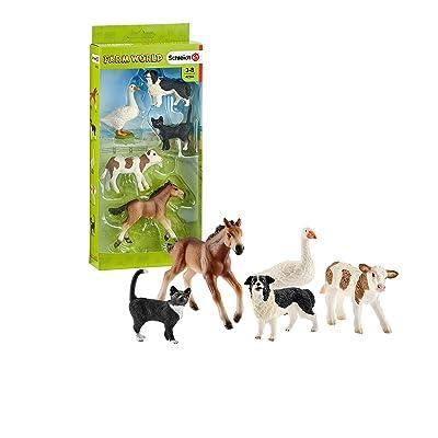 SCHLEICH Assorted Farm World Animals: Schleich: Toys & Games