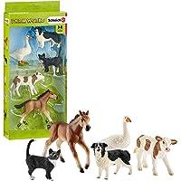 Schleich SC42386 Assorted Farm World Animals Figurines