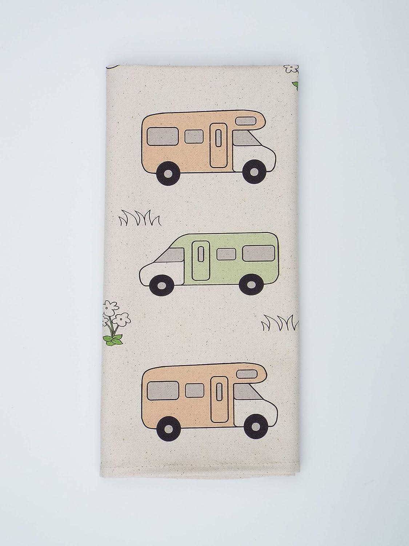 Exploresomemore Camper Toalla caravanas Regalo Autocaravana toalla de té Autocaravana Regalo