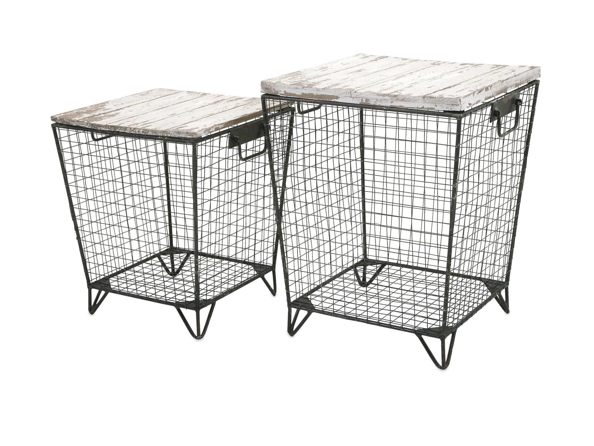 IMAX 88646-2 Ava Cage Tables (Set of 2)