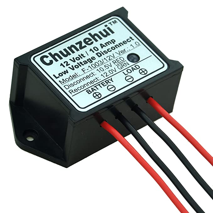 Chunzehui Low Voltage Disconnect Module LVD, 12V 10A, Protect/Prolong  Battery Life