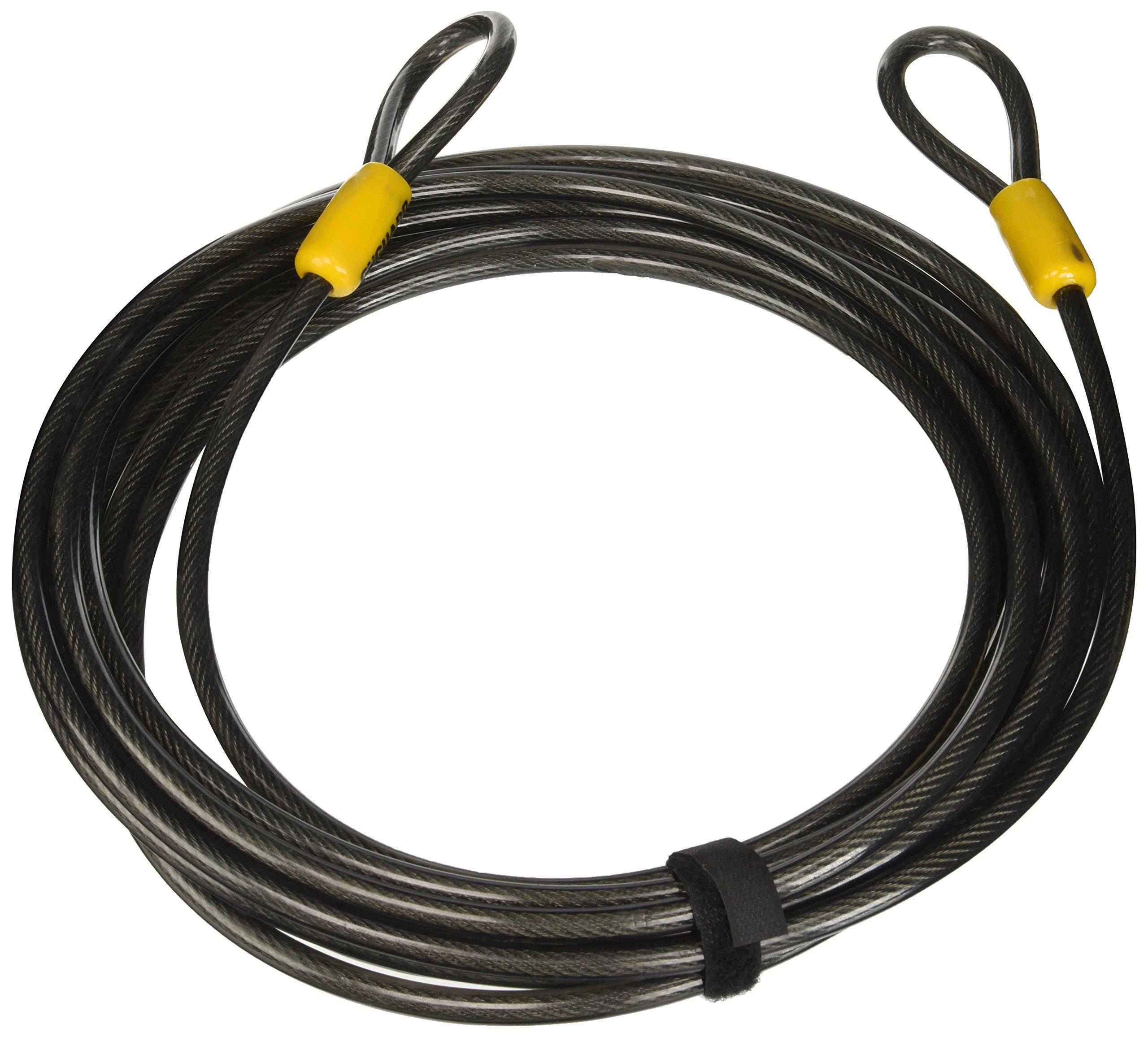 Black, 4.6m x 10 mm Onguard Akita Loop Cable Lock